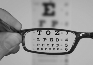 See Eyechart With Glasses
