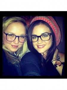 Lucy/Haely Thick rimmed glasses