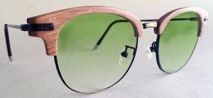 Browline half rim Glasses