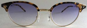 Tortoise Browline Clubmaster Tinted Glasses