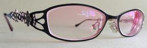 Filigree Eyeglass Frames with Tint